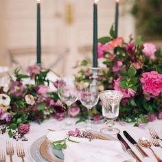 fuchsia wedding flor