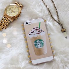 DIY Starbucks iPhone Case and more! Tutorial: http://youtu.be/GlncQlKZ9lU