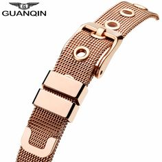 GUANQIN Ladies Watches Gold Watch Women Dress Top Brand Women's Fashion Stainless Steel Bracelet Quartz Watch Relogio Feminino
