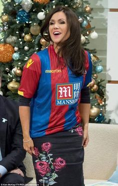 Susanna Reid on her Birthday Crystal Palace Football, Crystal Palace Fc, Suzanne Reid, Anna Richardson, Soccer Fans, Croydon, Tv Presenters, Tv On The Radio, Woman Crush