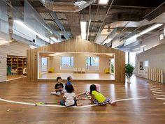 projekt wnętrza przedszkola, ciekawy projekt, wyposażenie przedszkola, meble przedszkolne