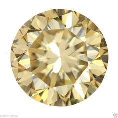 1.35 CT MOISSANITE VS2 CLARITY FANCY COLORED JEWELRY GEMSTONE LOOSE ROUND SHAPE