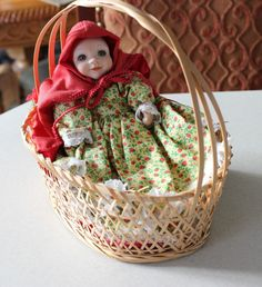 World Gallery Doll Hospital Little Red Riding Hood Doll Storybook Baby