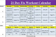 With the 21 Day Fix Workout Schedule, you will receive color-coded containers each designated for a particular type of food.