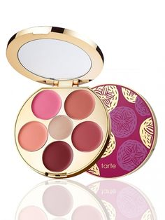 limited-edition kiss & blush cream cheek & lip palette from tarte cosmetics
