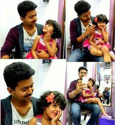 Vijay With Major Mukund Varadarajan Daughter