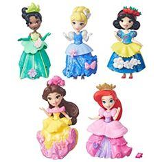 Disney Princess Little Kingdom Royal Sparkle Collection Disney Princess Toys, Disney Dolls, Frozen Disney, Princess Dress Up, Little Princess, Princess Party, Toys R Us, Disney Belle Costume, Alternative Disney Princesses