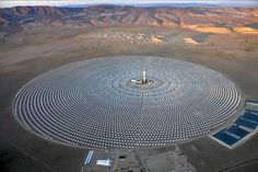 SolarReserve's Crescent Dunes Project in Tonopah, Nevada is quietly providing clean, green solar energy to 75,000 homes. The concentrated solar plant is