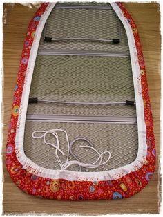 Super Easy Ironing Board Cover Tutorial | DIY & Craft Ideas