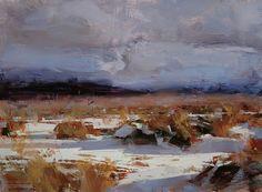 Artist: Tibor Nagy - Title: Golden Winter