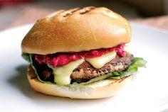 10 minute dinner - portobello cheeseburgers