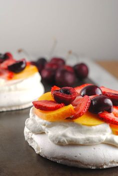 This vegan pavlova is made using chickpea water! It sounds weird, but they results are amazing.