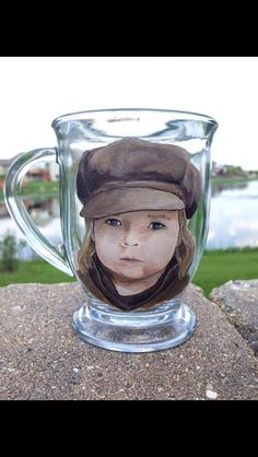 Hand painted mug from chic chalk designs