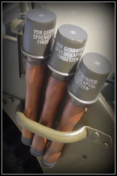 German Model 24 Stielhandgranate (Potato Masher Grenades)