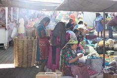 themijachronicles.com Zapotec women at the Tlacolula market in Oaxaca