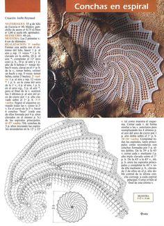 centro uncinetto rotondo a spirale - magiedifilo.it punto croce uncinetto schemi gratis hobby creativi