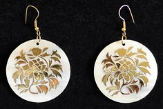 Designer Shell Earrings $15.00 only