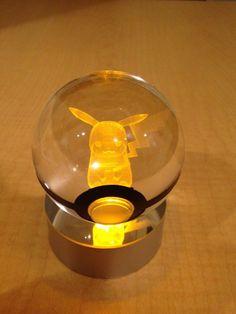 Pokebolas de cristal, com Pokémons brilhantes