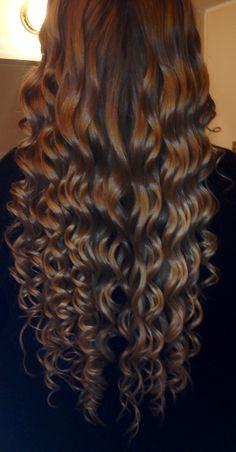 Wanded curls