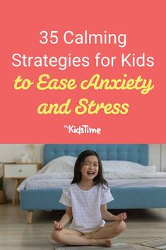 35 Calming Strategies for Kids to Ease Anxiety and Stress Family Fitness, Free Things To Do, Toddler Preschool, Parenting Advice, Calming, Activities For Kids, Toddlers, Anxiety, Health Fitness