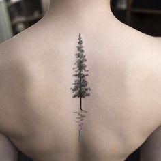20 najlepszych pomysłów na tatuaż na kręgosłupie!