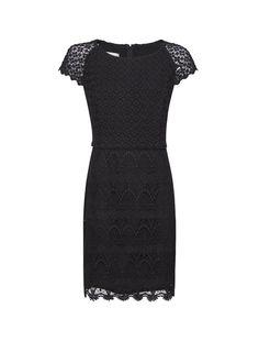 Lace edge dress by MANGO