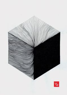 Cube II by Vasilj Godzh, via Behance