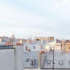 ...sur les toits de paris