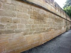 Magdalen College Longwall Stone Wall Conservation And Repairs