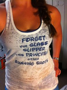 To wear after the Disney race