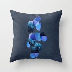 Textures/Abstract 11 Throw Pillow by ViviGonzalezArt - $20.00