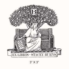 Ex Libris custom stamp. Just ordered!