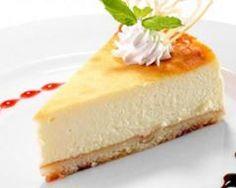 Cheesecake allégé au citron