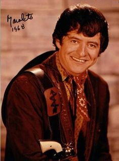 Part of an extensive Sept. 2013 interview with one of my favorite classic Hollywood actors, Henry Darrow is captured in character as cowboy Manolito Montoya of 'The High Chaparral', his best known acting role, 1968: Courtesy of NBC Universal