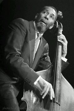 Ron Carter On Stage Java Jazz Festival > Ron Carter (born May 4, 1937) is an American jazz double-bassist. His appearances on over 2,500 albums make him one of the most-recorded bassists in jazz history. Carter is also an acclaimed cellist who has recorded numerous times on that instrument.[1] He was elected to the Down Beat Jazz Hall of Fame in 2012. A2