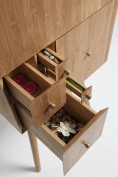 Utopia Design created this Fibonacci Cabinet, whose drawers are scaled according to ratios from the Fibonacci sequence.