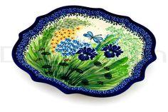 Polish Pottery 10-inch Platter | Boleslawiec Stoneware | Polmedia H3012C