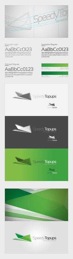 Branding   Speedy Services Concept by Thomas Le Corre, via Behance