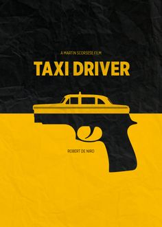 Bruce Yan on minimal movie posters - Taxi Driver