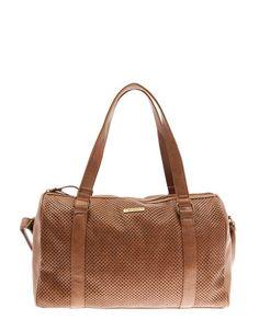 Bershka Belgium -Perforated bowling bag