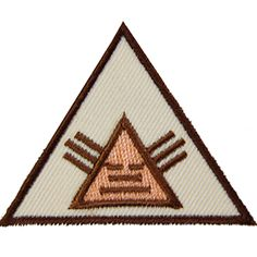 GSSD NATIVE AMERICAN BROWNIE BADGE-badge requirements included with order