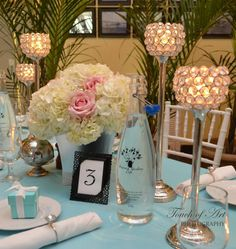 Breakfast at Tiffany's Themed Bridal Shower by Exquisite Affaires - Weddings & Events Tiffany Party, Tiffany And Co, Tiffany Blue, Wedding Event Planner, Wedding Events, Wedding Ideas, Reception Party, Reception Decorations, Congrats On Your Engagement