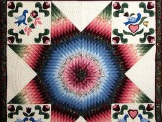 Pennsylvania Dutch Star Quilt