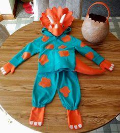 Cadens Triceratops Halloween Costume