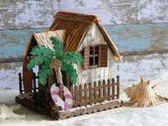 Beach house using Village Dwelling