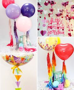 Fun and Fabulous Balloons from Bubblegum Balloons | www.onefabday.com