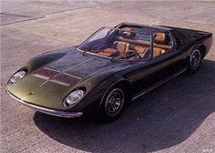 Lamborghini Miura Roadster (Bertone), 1968