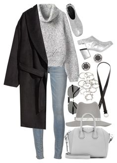 """""""Untitled #7883"""" by nikka-phillips ❤ liked on Polyvore featuring H&M, Chloé, rag & bone, Monki, Givenchy, Forever 21 and Marc by Marc Jacobs"""