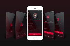 Login/Signup UI Kit by theme_express on Envato Elements Ui Kit, Mobile Design, Interface Design, Mobile App, Website, Mobile Applications, User Interface Design