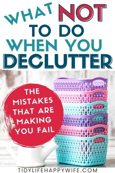 Declutter Home, Declutter Your Life, Organizing Your Home, Organizing Tips, Organising, Decluttering Ideas, Diy Home Cleaning, House Cleaning Tips, Cleaning Hacks